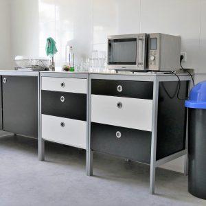 Küche Pension am Fuchsbau